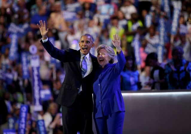 Hillary Clinton -  Barack Obama