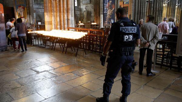 Fransa'daki kilise saldırısı - Sputnik Türkiye