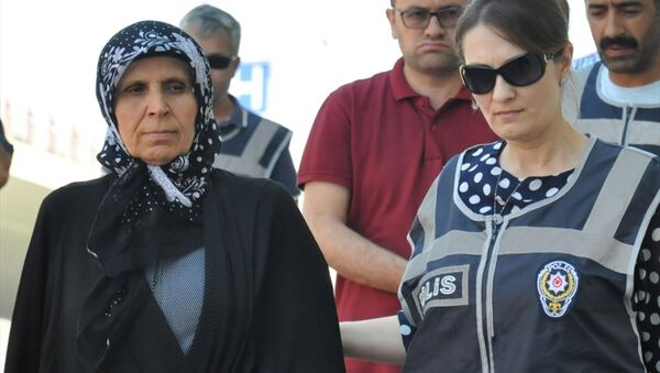Boydak Holding Yönetim Kurulu Başkanvekili Şükrü Boydak'ın eşi Aliye Boydak - Sputnik Türkiye