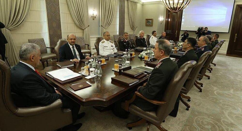 Yüksek Askeri Şura toplantısı