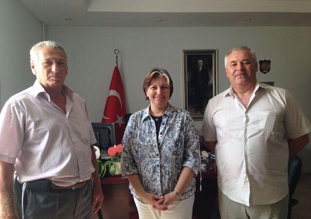 Rusyalı Ahıska Türklerinden Türk Başkonsolosa destek ve dayanışma ziyareti