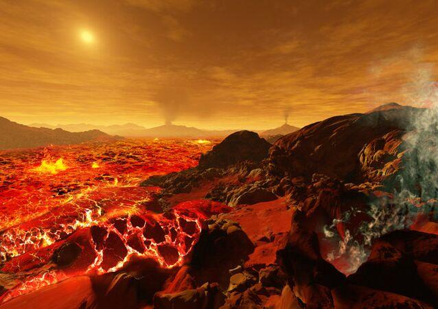 Venüs yüzeyi