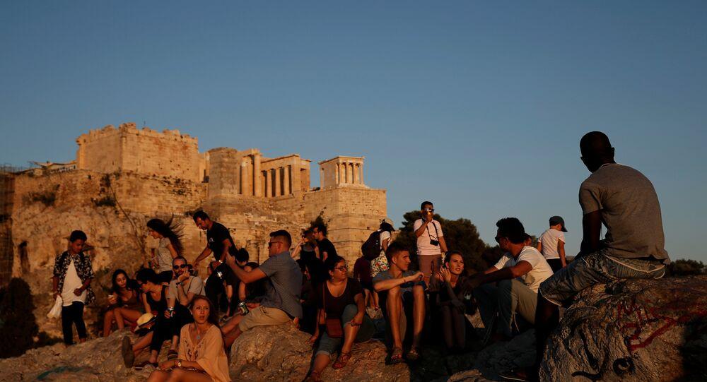Yunanistan turizm / Atina / Akropolis