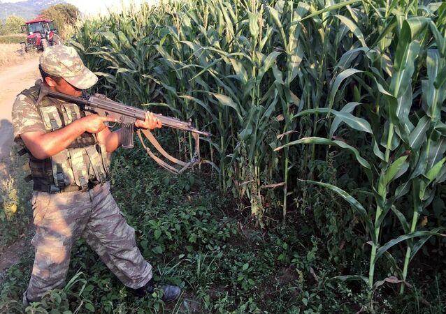 15 Temmuz darbe girişimi gecesi Muğla Marmaris'te Cumhurbaşkanı Recep Tayyip Erdoğan'ın kaldığı otele saldırdıktan sonra kaçan 11 darbeci askerin yakalanması için, Gökçe ile Akçapınar köyleri arasındaki ormanlık alanda komando birliği operasyon düzenledi.