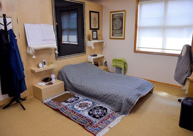 Fethullah Gülen'in Pensilvanya'daki evindeki odası