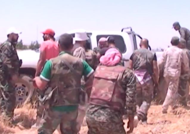 Suriye ordusu Tel al-Tut ve Bediye bölgesinde