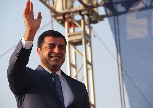 HDP Eş Genel Başkanı Selahattin Demirtaş