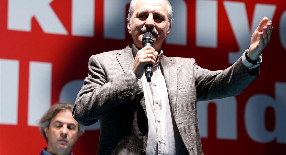 Başbakan Yardımcısı Numan Kurtulmuş