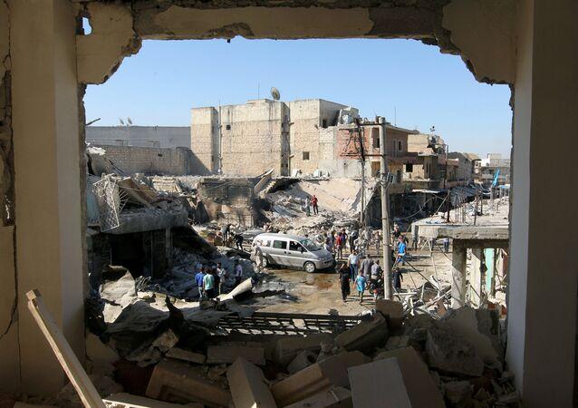 Halep'in Atareb bölgesi