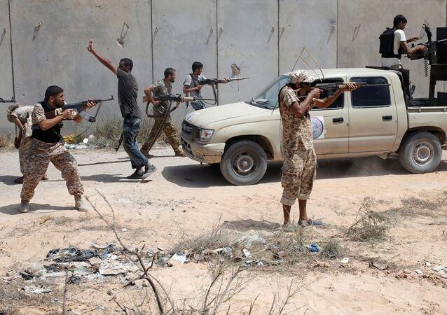 Libya IŞİD'le mücadele