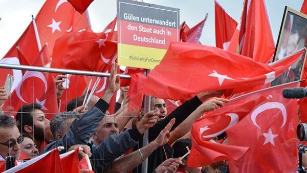 Almanya AKP mitingi - Sputnik Türkiye