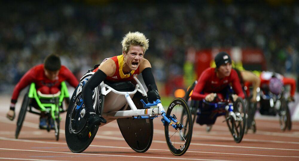 Belçikalı paralimpik atlet Marieke Vervoort