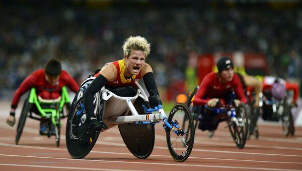 Belçikalı paralimpik atlet Marieke Vervoort - Sputnik Türkiye