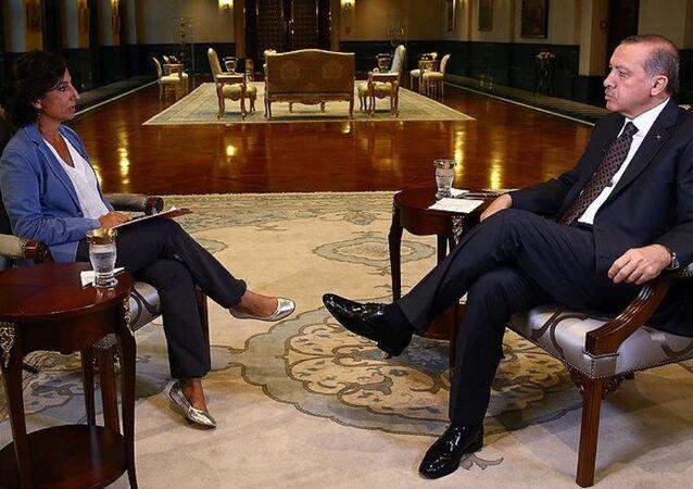 Erdoğan İtalyan televizyonuna konuştu