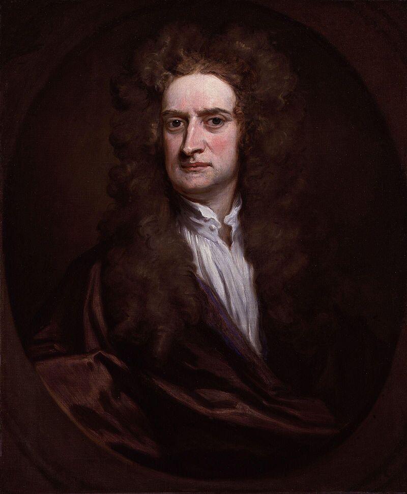 İngiliz fizikçi Issac Newton