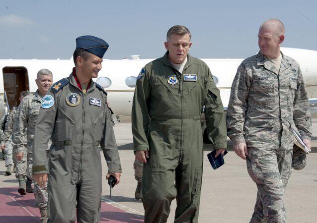 ABD Hava Kuvvetleri ve Afrika Komutanı General Frank Gorenc, İncirlik Üssü'ne geldi.