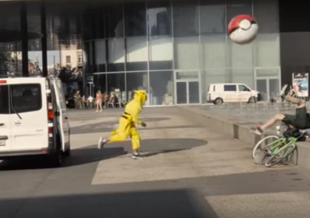 İsviçre'de pokemonlar insanları yakaladı