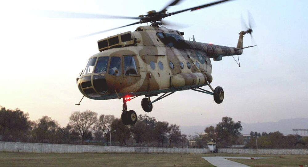 Pakistan ordusuna at Mi-17 helikopter