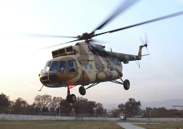 Pakistan ordusuna at Mi-17 helikopter