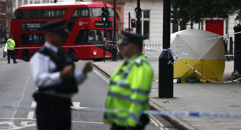 Londra, polis