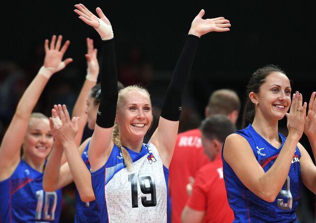 Anna Malova ve Vera Vetrov, Rio 2016 Olimpiyat Oyunları'nda A grubu kadınlar voleybol karşılaşmasınada Arjantin takımını yenerek zafere ulaştı.