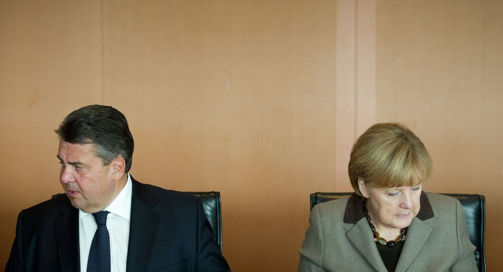 Angela Merkel - Sigmar Gabriel