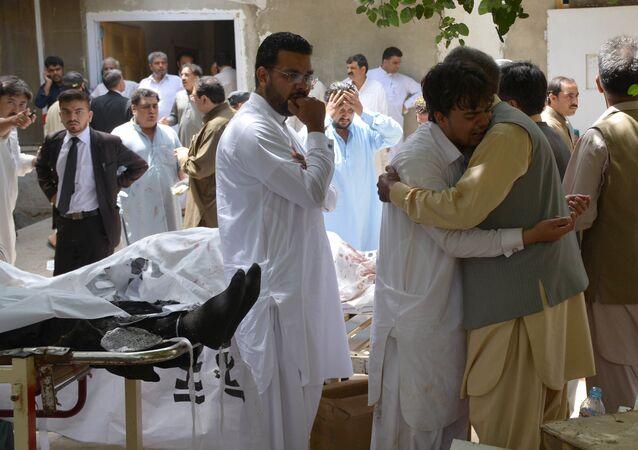 Pakistan'ın Belucistan eyaletinde patlama