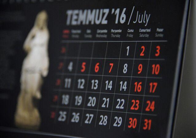Antalya Müze Müdürlüğü 2016 tekvimine 15 Temmuz hatası