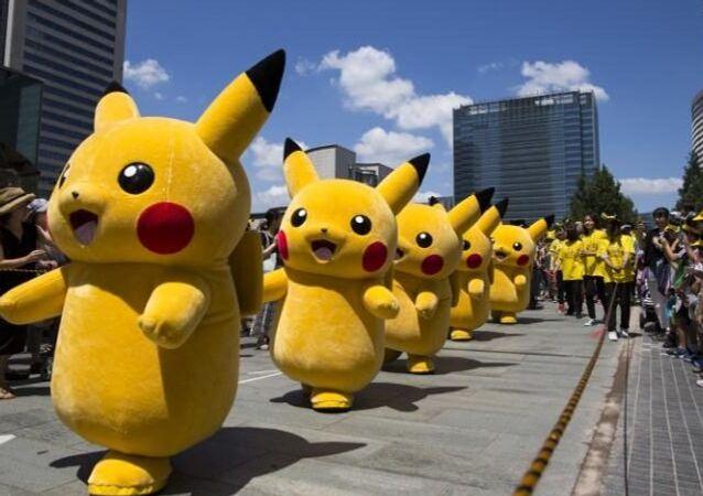 Japonya'nın başkenti Tokyo'da gerçekleştirilen Pokemon festivali çerçevesinde çok sayıda Pikaçu'nun yer aldığı bir geçit töreni düzenlendi.