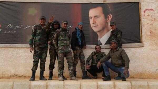 Esad tarafından affedilen Suriyeli muhalifler - Sputnik Türkiye