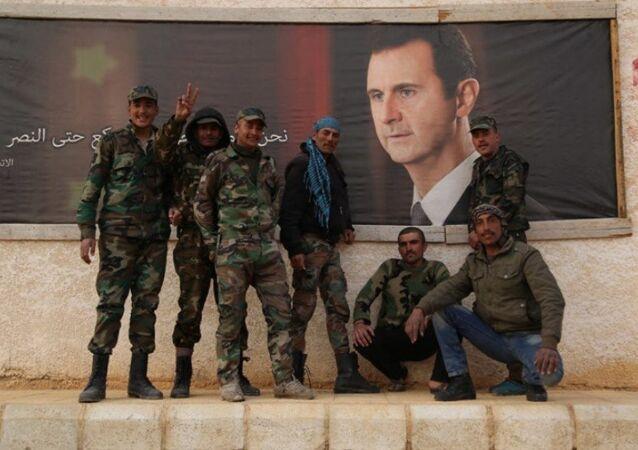 Esad tarafından affedilen Suriyeli muhalifler