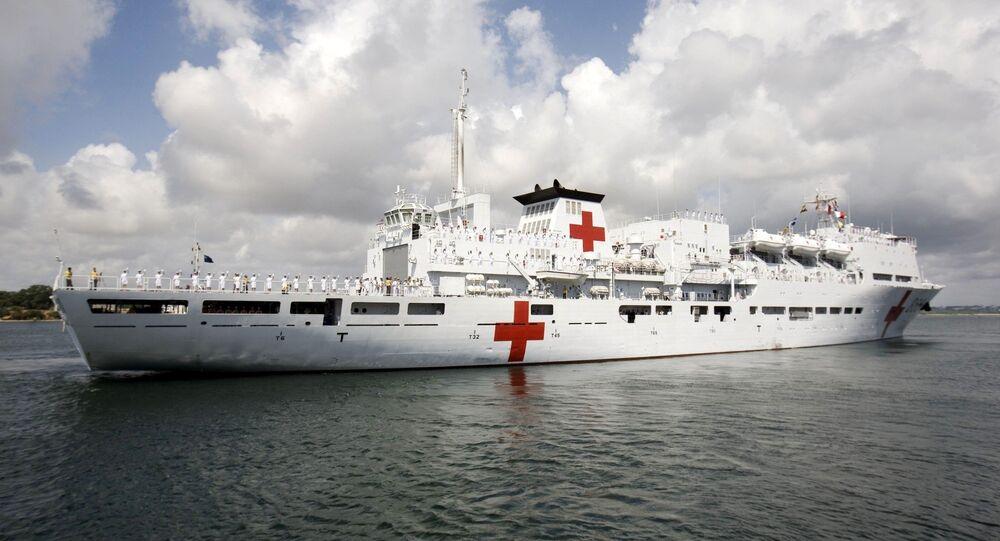 Kızılhaç Akdeniz arama-kurtarma gemisi