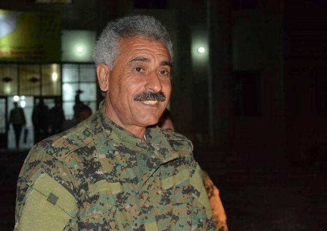 Demokratik Suriye Güçleri (DSG) Dış İlişkiler sorumlusu Abdulaziz Yunus,
