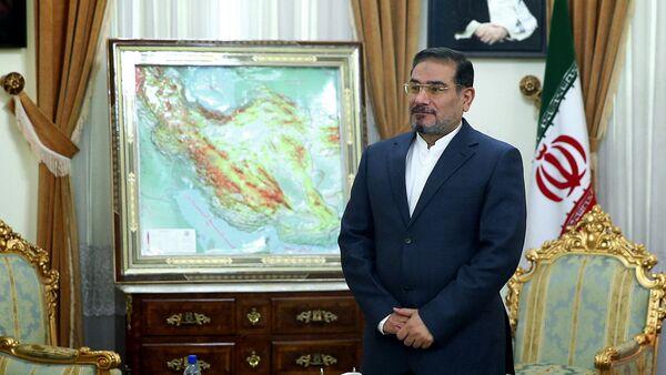 İran Yüksek ulusal Güvenlik Konseyi Başkanı Ali Şamkani - Sputnik Türkiye