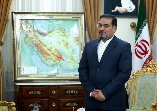 İran Yüksek ulusal Güvenlik Konseyi Başkanı Ali Şamkani