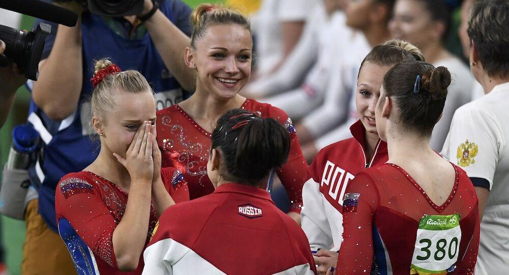 Rusya Kadınlar Jimnastik Takımı