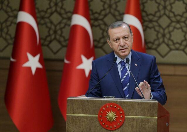cumhurbaşkanı Erdoğan Beştepe
