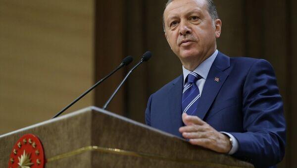 Erdoğan Beştepe - Sputnik Türkiye