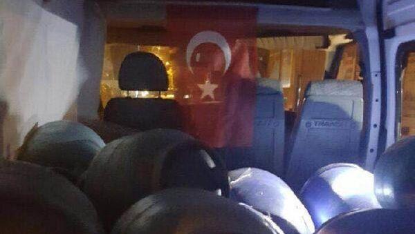 Bitlis'te 1 ton bomba yüklü minibüs yakalandı - Sputnik Türkiye