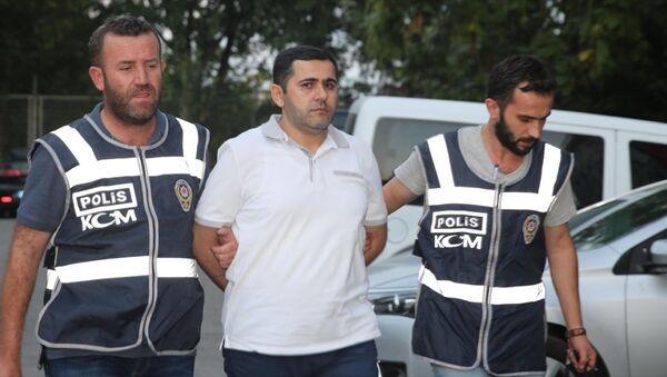 Bulgaristan tarafından Türkiye'ye iade edilen FETÖ üyesi Abdullah Büyük - Sputnik Türkiye
