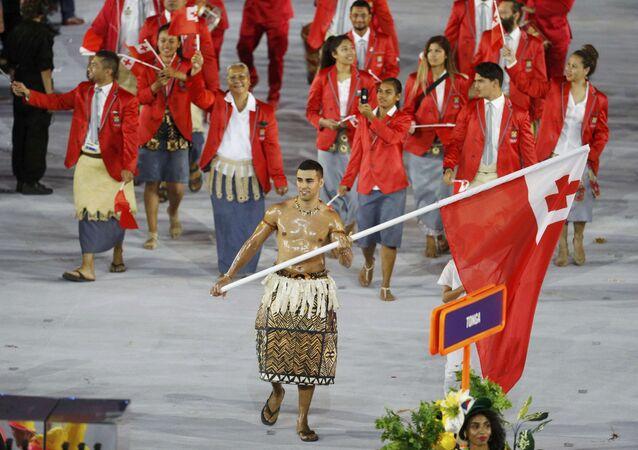 Pita Nikolas Taufatofua / Rio Olimpiyat Oyunlar