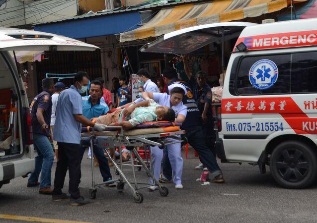 Tayland'da bombalı saldırı
