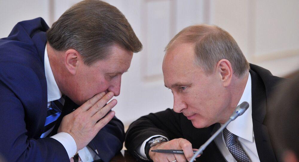 Vladimir Putin - Sergey İvanov