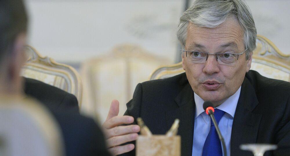 Belçika Dışişleri Bakanı Didier Reynders