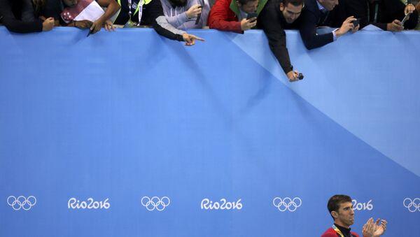 ABD'li yüzücü Michael Phelps - Sputnik Türkiye