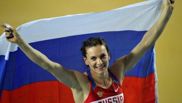 Rus atlet Elena İsinbayeva - Sputnik Türkiye