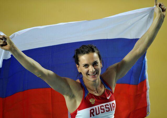 Rus atlet Elena İsinbayeva