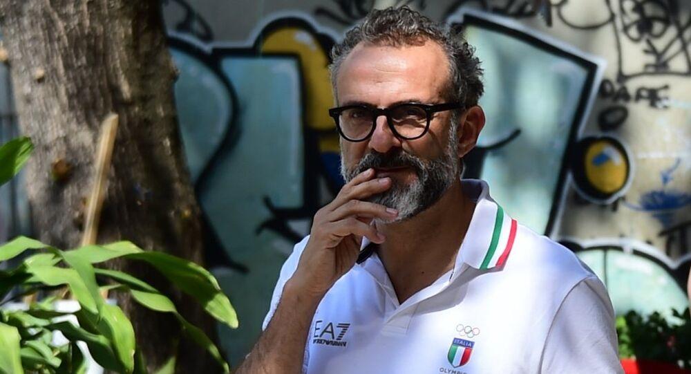 Dünyanın en iyi restoranı seçilen İtalya'nın Modena kentindeki Osteria Francescana'nın sahibi Şef Massimo Bottura