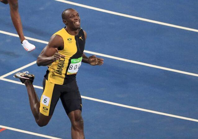Jamaikalı atlet Usain Bolt