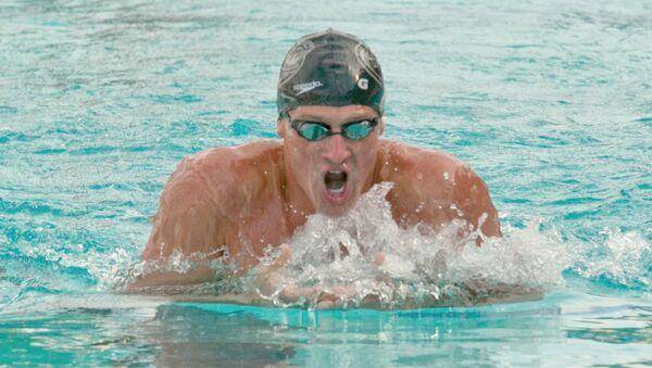 ABD'li Olimpiyat yüzücüsü Ryan Lochte - Sputnik Türkiye